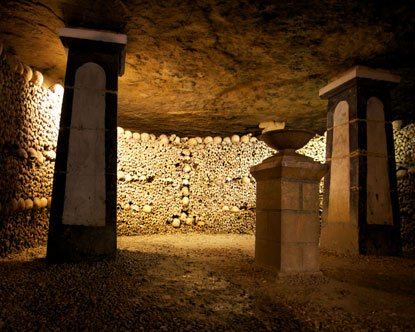 Nécropole intérieur