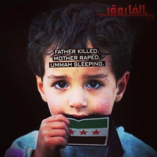 Les enfants muslims...