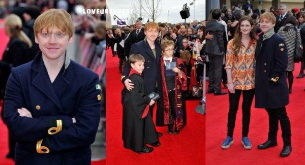 ICM et Rupert Grint sur le tapis rouge de Harry Potter Studio Tour!