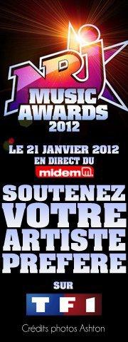 bientot les NRJ Music Awards 2012