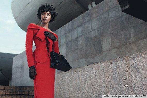 PHOTO. Naomi Campbell incarne Michelle Obama le temps d'une séance photo
