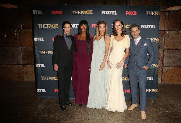 """Naomi Campbell pose Lors d'une séance photo pour le spectacle de télévision australienne, «Le visage de l'Australie"""" à Carriage Works"""