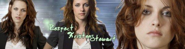 Respect Kristen Stewart
