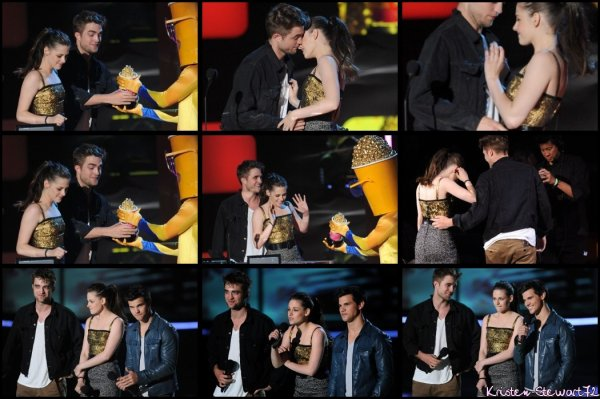 Kristen aux MTV Awards 2010