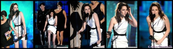 Kristen au Spike Scream Awards, Samedi 16 Octobre 2010