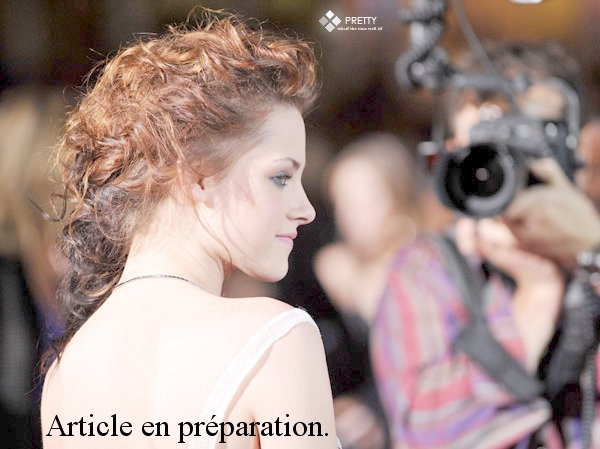 Article en préparation : Kristen au screening de Welcome To THe Rileys à New York.