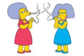Patty et Selma Bouvier