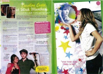 Nouveau Photoshoot pour Caroline  Agenda Presse/ Concerts/ Médias !