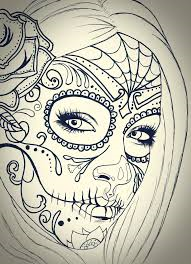 ♥ Skull Girl ♥ Drawing *.*