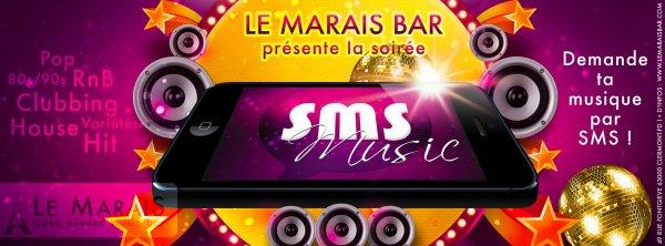 TOUS LES DIMANCHES> SMS MUSIC> L'AMBIANCE QUI MET TOUT LE MONDE D'ACCORD!