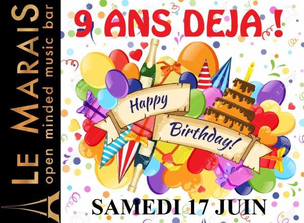 HAPPY BIRTHDAY MARAIS ! 9 ANS DÉJA...> 17/06/17