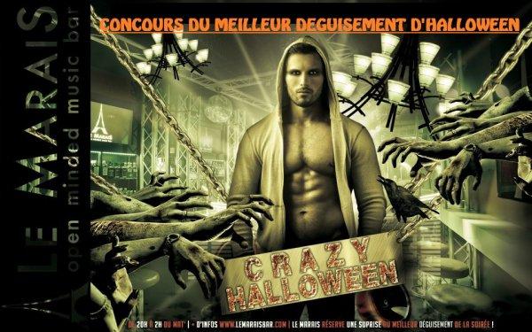 CONCOURS DU MEILLEUR DEGUISEMENT D'HALLOWEEN> MARDI 31 0CTOBRE