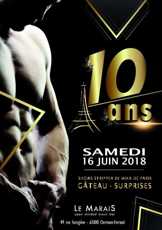 10 ANS DEJA ! 16/06/18