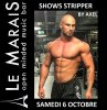SHOWS STRIPPER BY AXEL> 6/09/18: +18 only