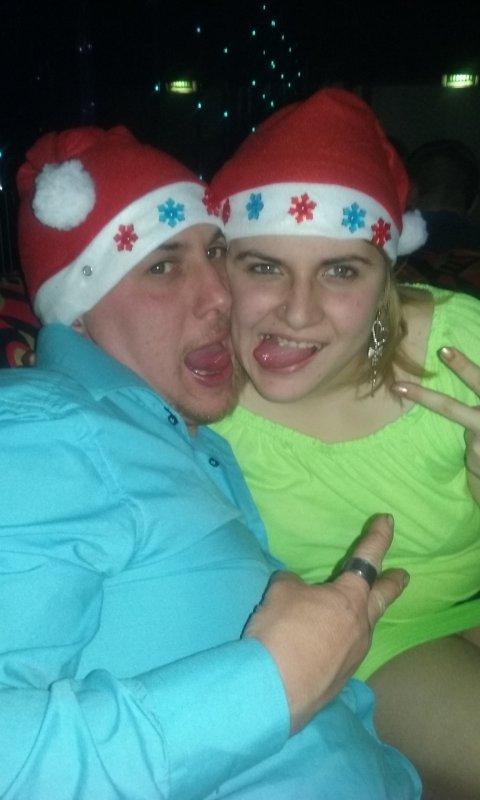 Mwa et mon frere Anthony