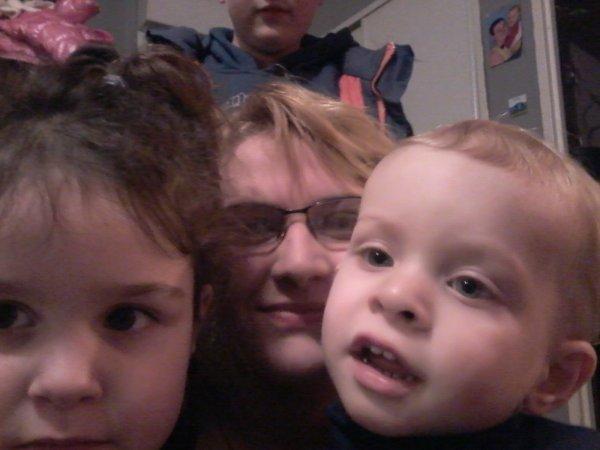 Ma filleule,mon neveu et moi