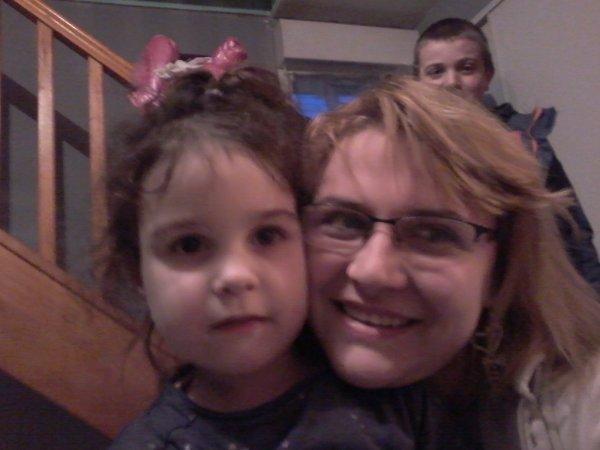Ma filleule et moi