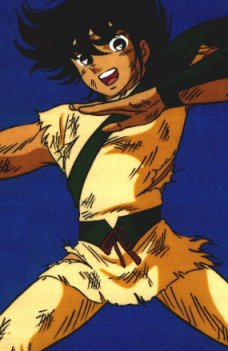 L'hommage de Seiya
