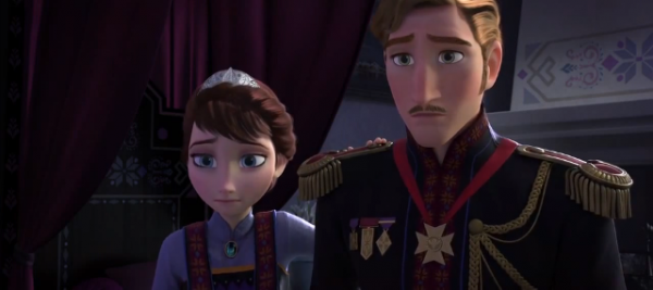 les parents de elsa et anna