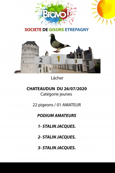 Chateaudun, jeune du 26/07/20