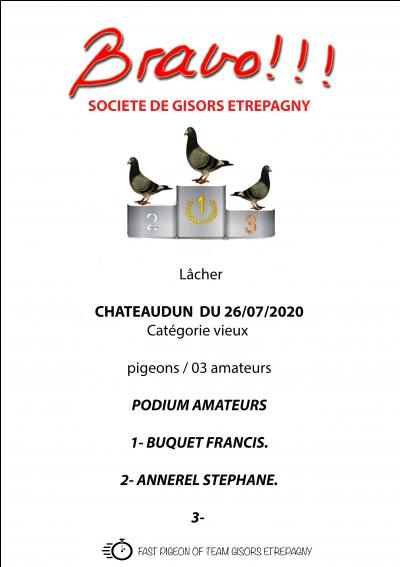 CHATEAUDUN, VIEUX DU 26/07/2020
