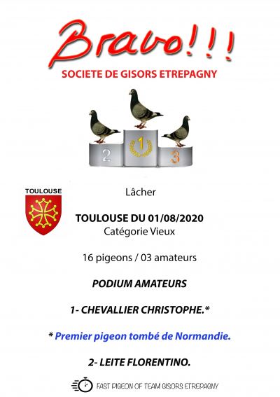 TOULOUSE, ô Toulouse