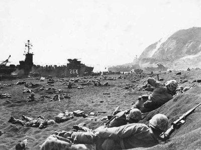 Bataille d' Iwo' Jima