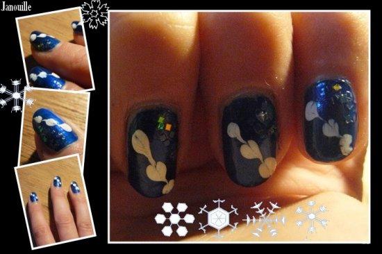 >> Deux Nail Art pour l'hiver <<