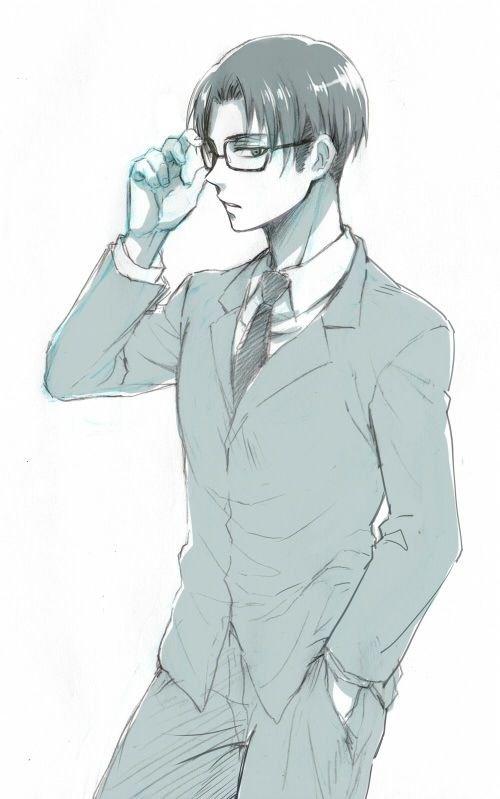 Même si nous portant des lunettes, nous avons un charme.