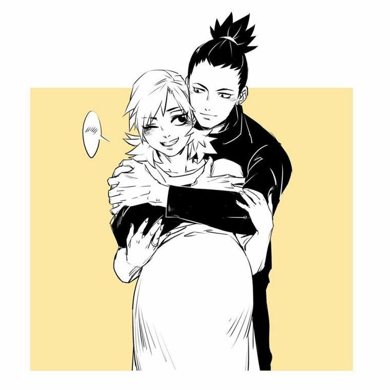 L'histoire d'amour de Shikamaru x Temari.