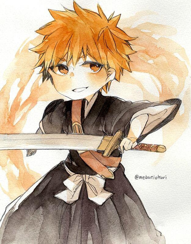 -Ichigo vs Rukia