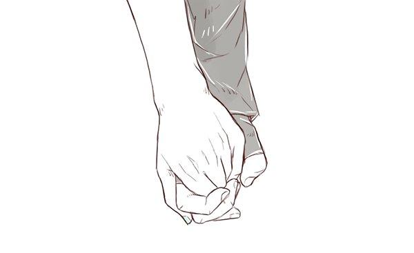 Tenir la main de la personne qu'ont l'aime