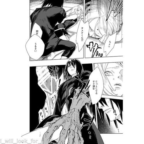 Doujinshi (R+18) of Sasuke and Sakura.