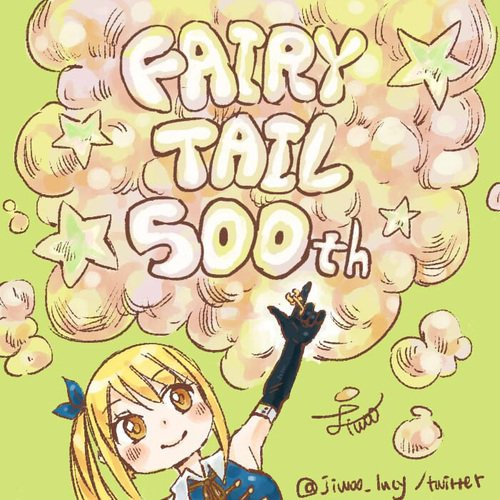 FAIRY TAIL 500th