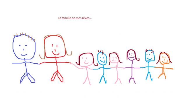 La famille de mes rêves...