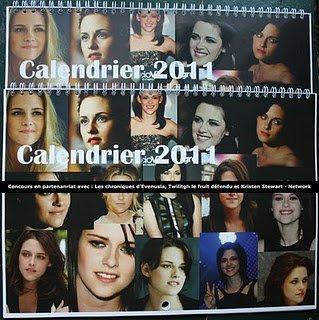 Concours Kristen Stewart Network !!! Gagne un calendrier Kristen Stewart !!