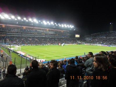 Stade Vélodrome le 13/11/2010