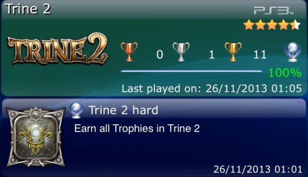Trine 2 Platine