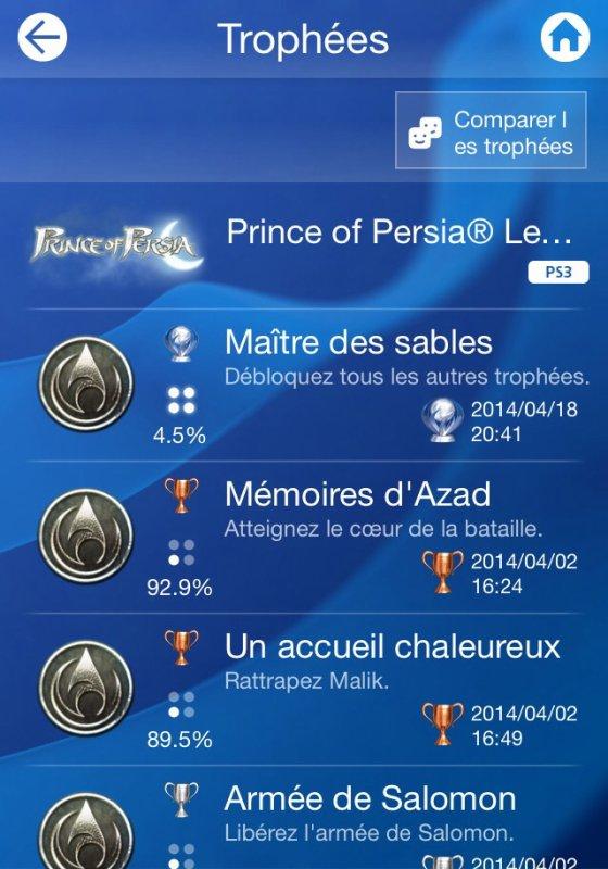 Prince of Persia Platine