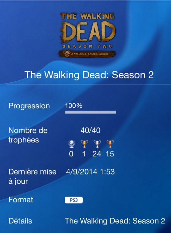 Walking Dead Season 2 100%
