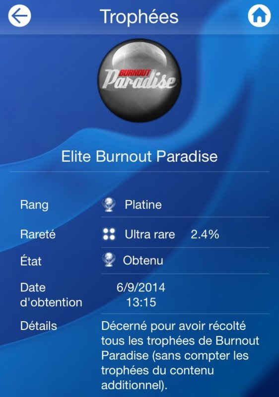 Burnout Paradise Platine