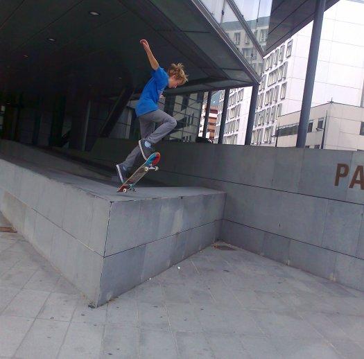 Skates au Palais de justice !