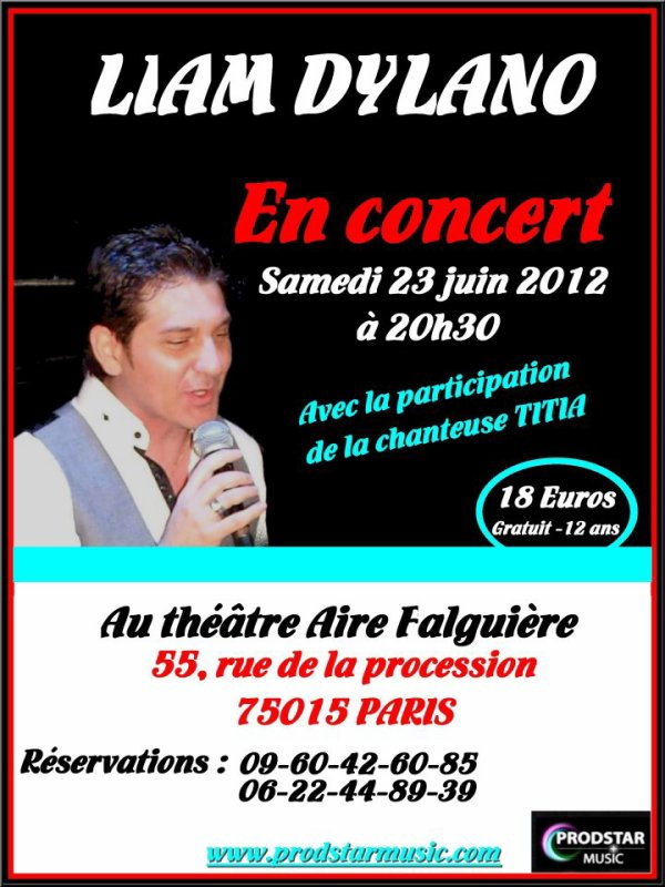 Concert au Théâtre aire Falguière.