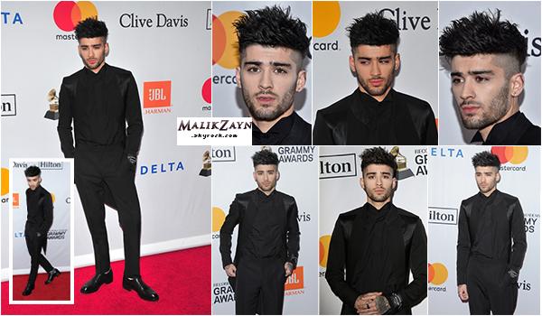 27/01/2018 ▬ Notre pakistanais préféré, Zayn Malik a été vu arrivant au gala des Pre-Grammy à New-York City. Nous voilà avec un Zayn élégant, magnifiquement bien vêtu, je n'ai rien à redire, c'est un TOP !top ou flop pour toi ?
