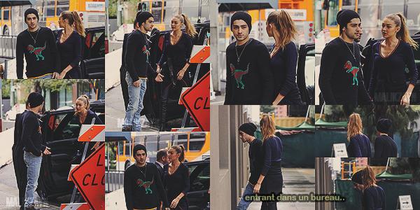07.02.2017 : Zayn Malik et sa girlfriend, Gigi Hadid ont été vus alors qu'ils se promenaient dans Los Angeles.