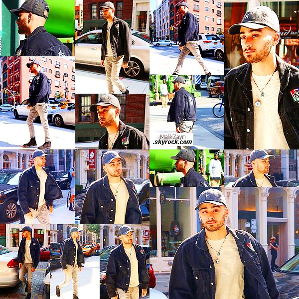 15/06/2017 ▬ Notre chanteur, Zayn Malik a été vu et photographié dans les rues de New York City, encore une fois. Zayn ne cesse de nous offrir des sorties dans NYC, mais nous avons de ses nouvelles, ce qui est déjà pas mal. top ou flop pour toi?