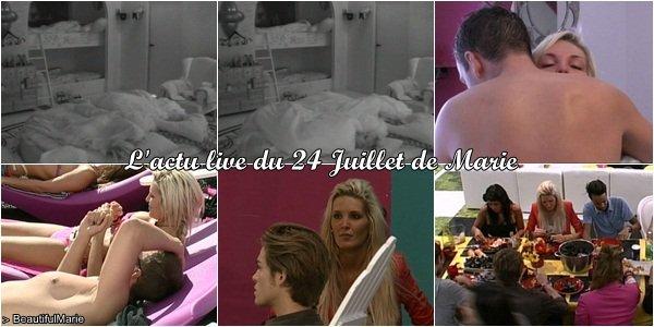. 24 Juillet 2011 : L'actu live de Marie..