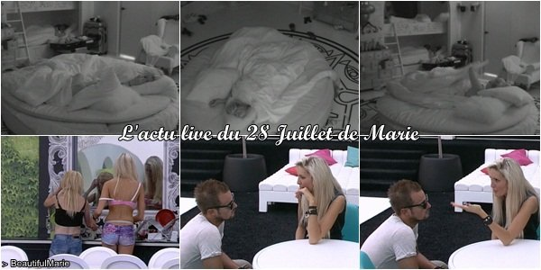 . 28 Juillet 2011 : L'actu live de Marie..
