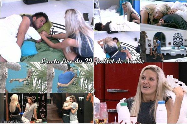 . 29 Juillet 2011 : L'actu live de Marie..
