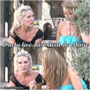 . 1 Aout 2011 : L'actu live de Marie..